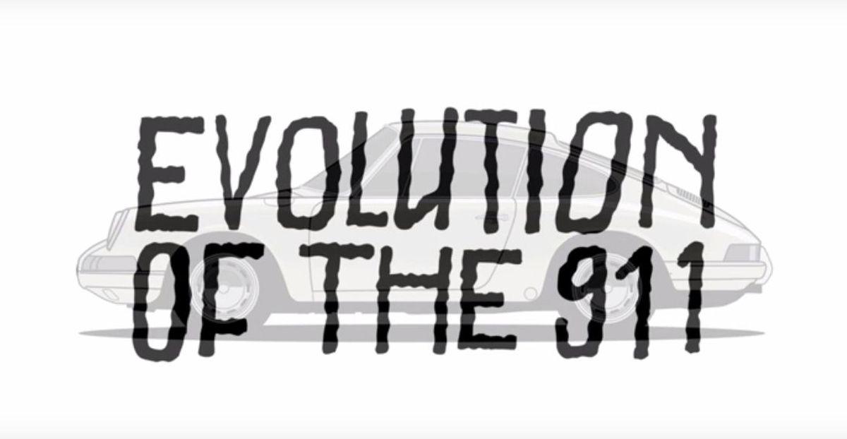 Evolution de la Porsche 911 en vidéo