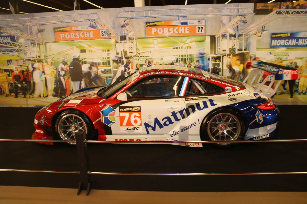 Rétromobile 2016 - Exposition 110 ans de l'Automobile Club de l'Ouest (ACO) & Porsche