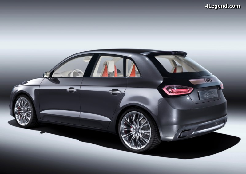 audi a1 sportback concept de 2008. Black Bedroom Furniture Sets. Home Design Ideas