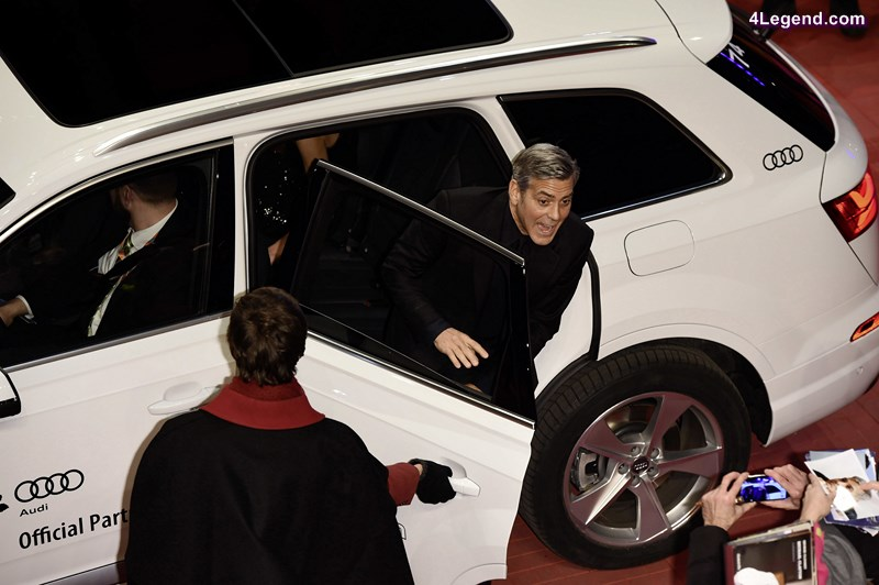 George Clooney, AUDI Lounge