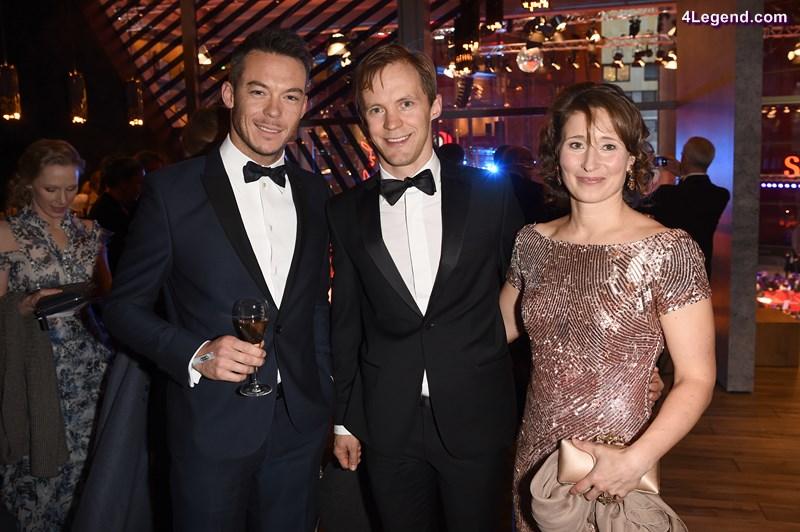 André Lotterer, Matthias Ekström, Heidi Sandtler