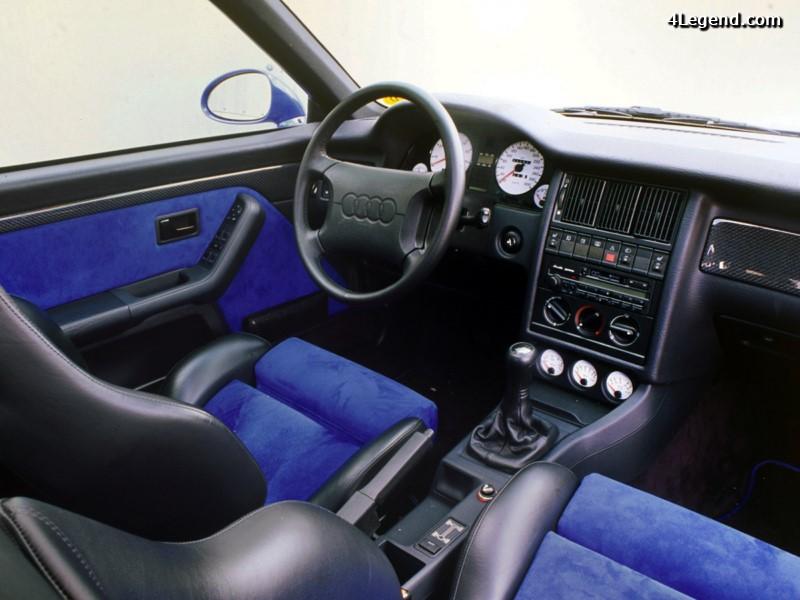 Audi rs 2 avant le premier rs d audi construit par for Audi 80 interieur