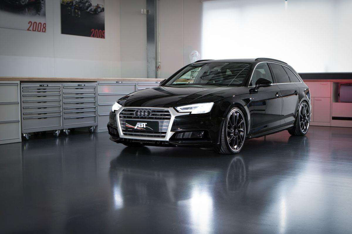 ABT AS4 Avant - L'Audi A4 Avant B9 préparée par ABT et présentée à Genève 2016