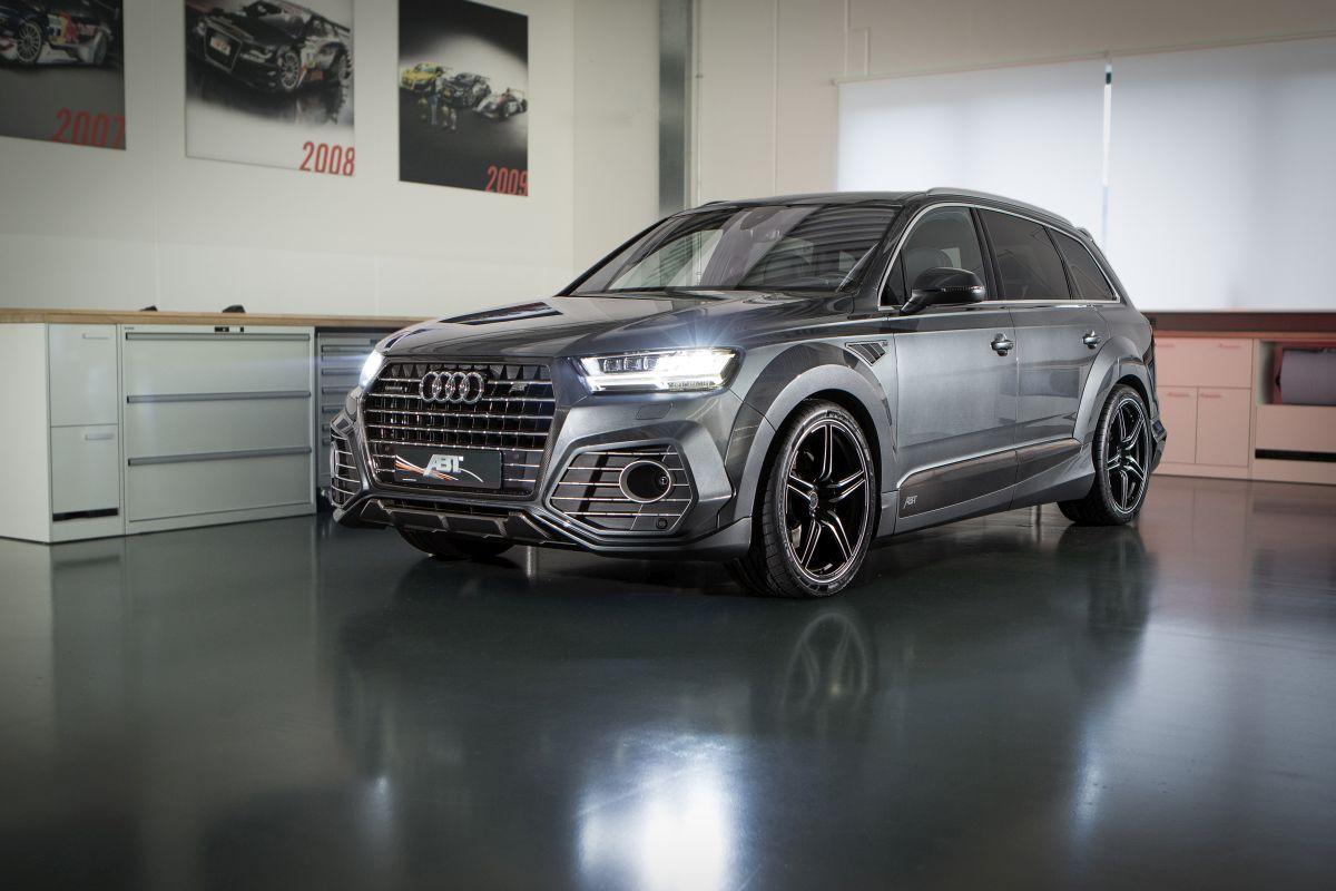 ABT QS7 - L'Audi Q7 préparée par ABT sera présentée à Genève 2016