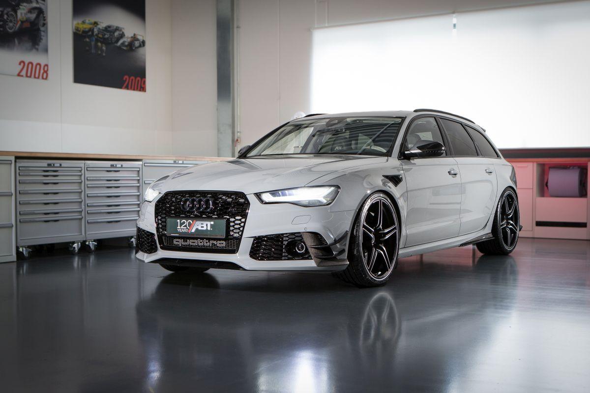 """ABT RS6 """"1 of 12"""" - Une Audi RS 6 en série limitée à 12 exemplaires pour fêter les 120 ans d'ABT"""