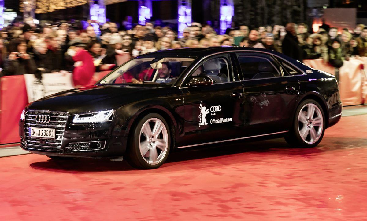Audi à la Berlinale 2016 - Une arrivée remarquée sur le tapis rouge à bord d'une voiture autonome