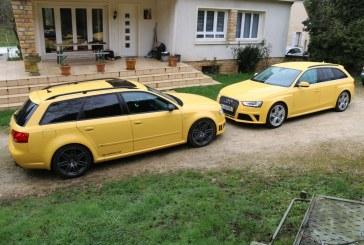 Essai et comparatif des Audi RS 4 B7 & Audi RS 4 B8