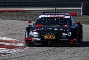 Essais de l'Audi RS 5 DTM à Monteblanco en Espagne