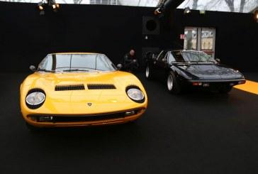 Lamborghini Miura & Lamborghini Urraco au Festival Automobile International 2016