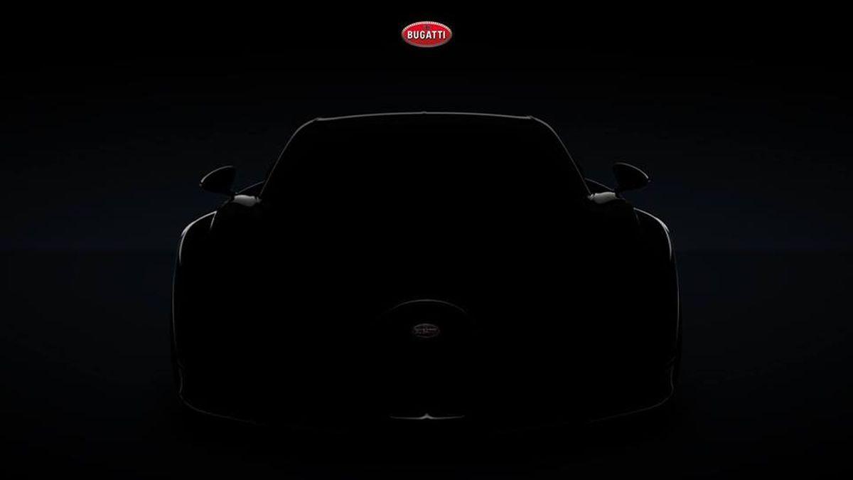 Live conférence de presse Bugatti au salon de Genève 2018