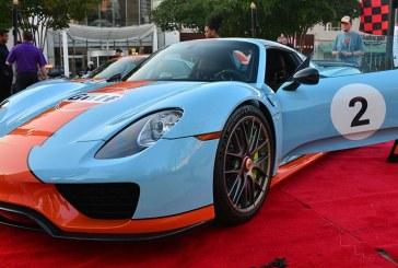 Porsche 918 Spyder aux couleurs de Gulf