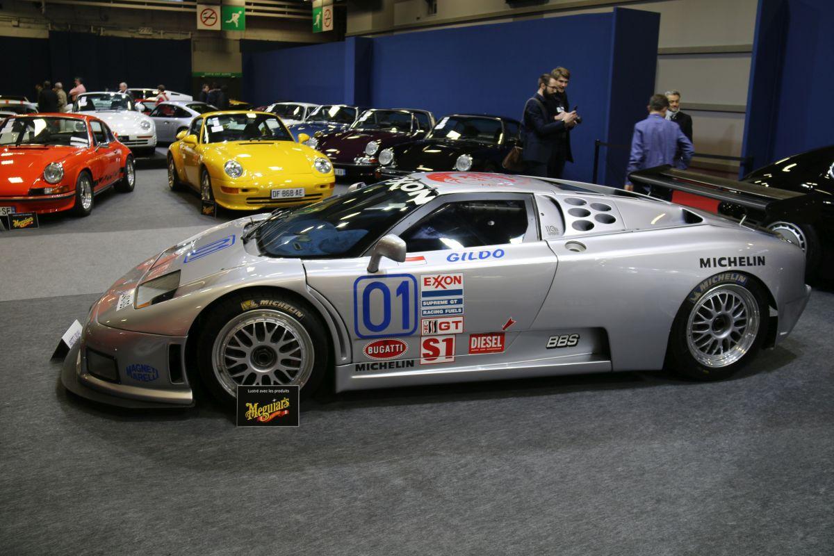 Rétromobile 2016 - Bugatti EB110 SS