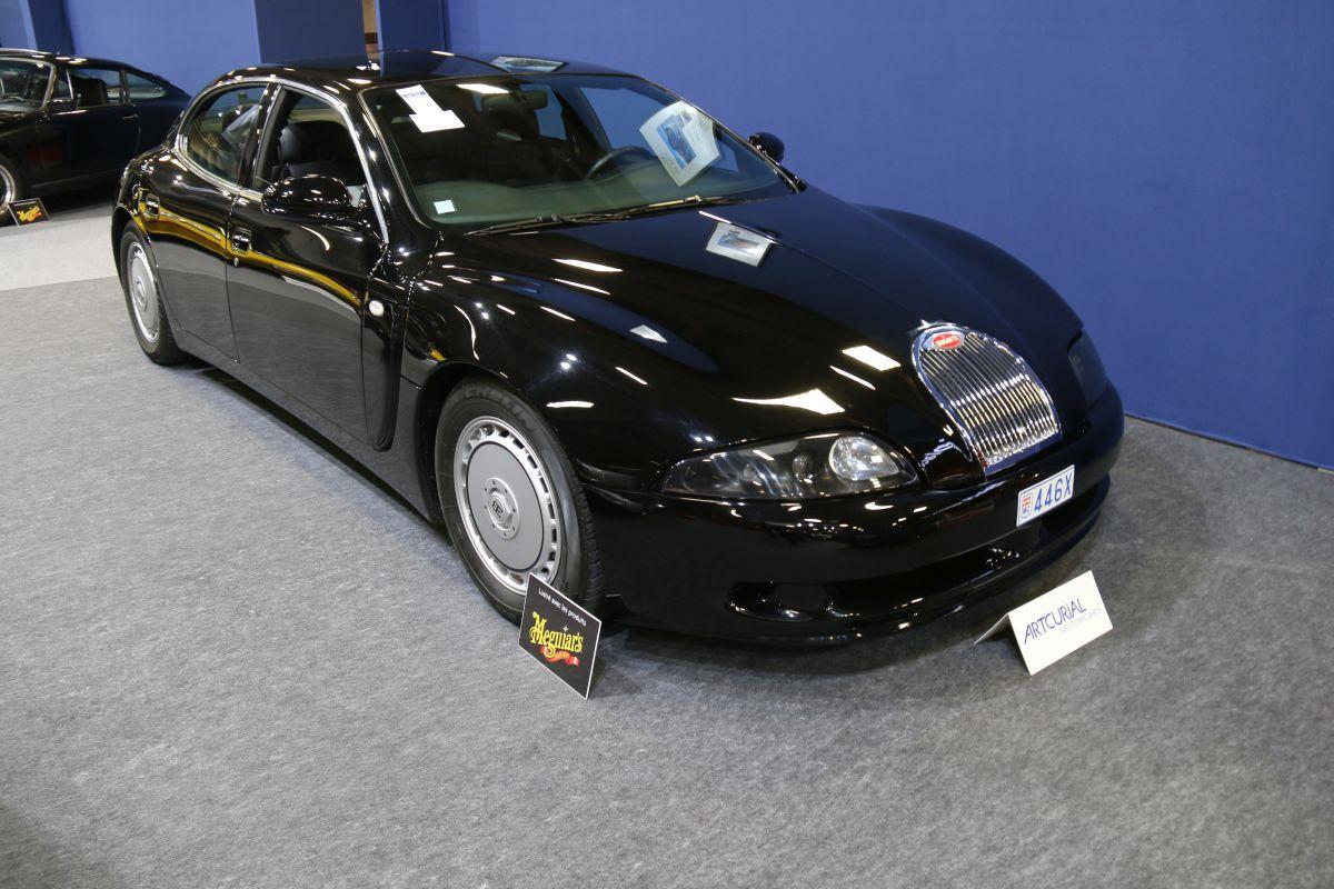 Rétromobile 2016 - Bugatti EB112 berline de 1999