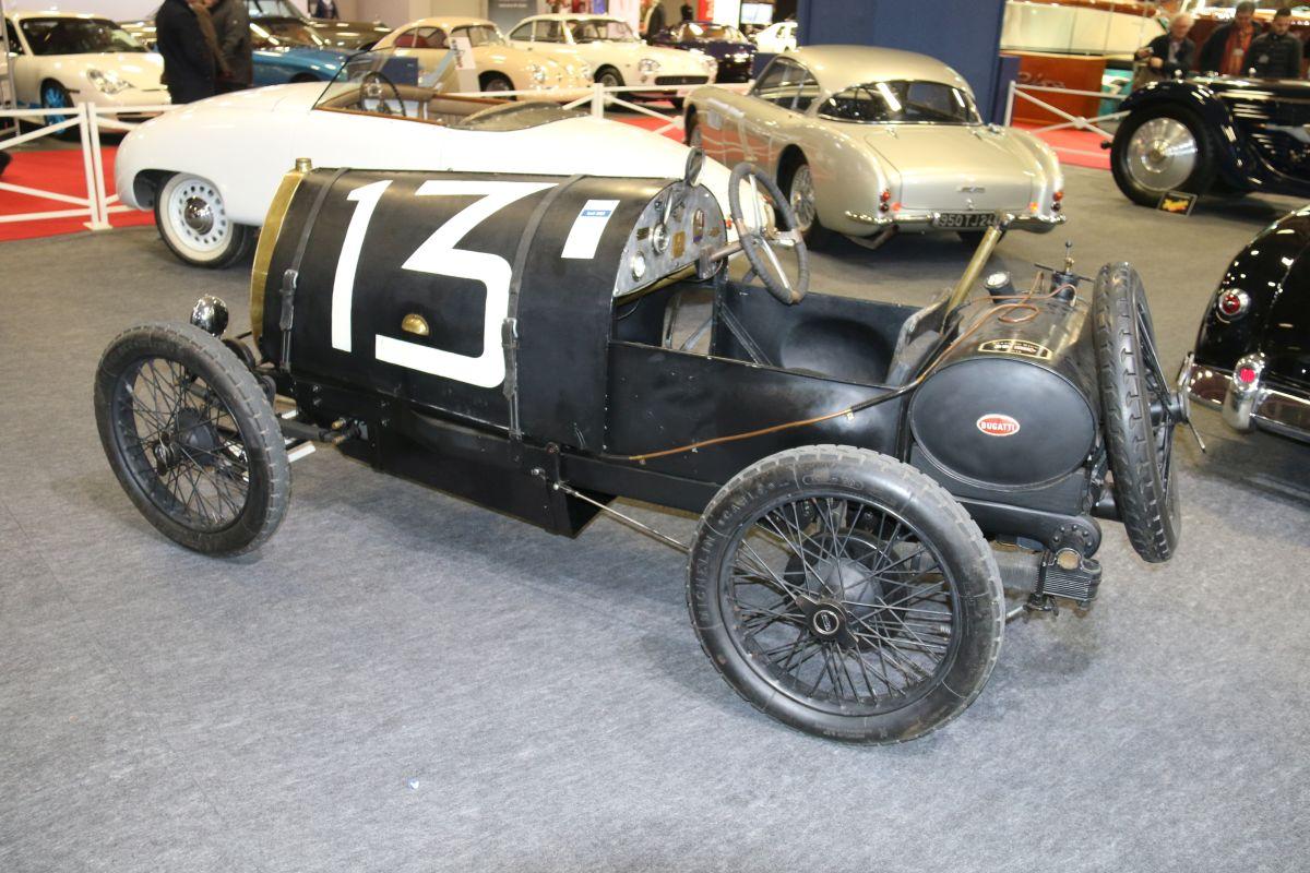 Rétromobile 2016 - Bugatti Type 13 de 1920