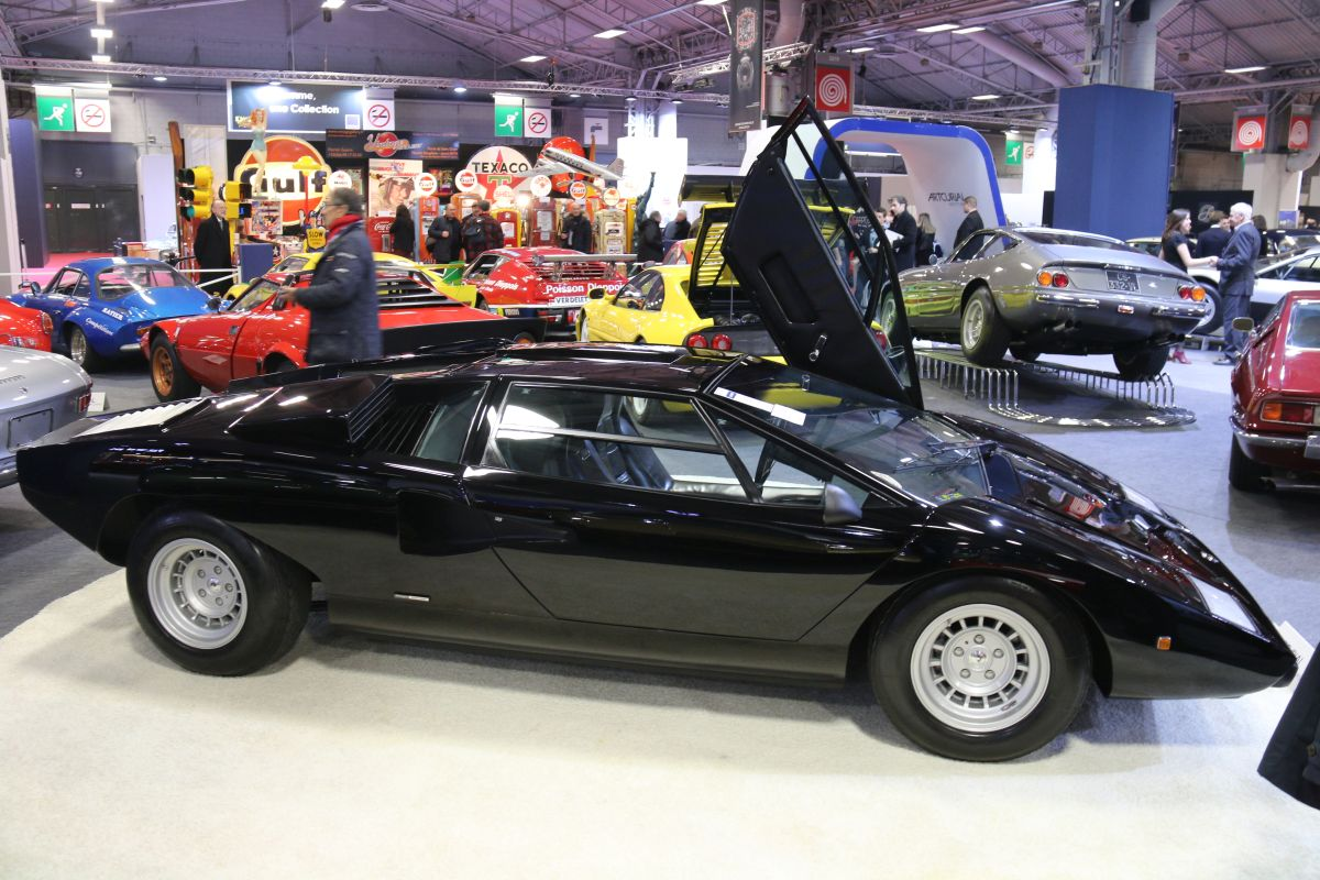 Rétromobile 2016 - Lamborghini Countach LP 400 coupé