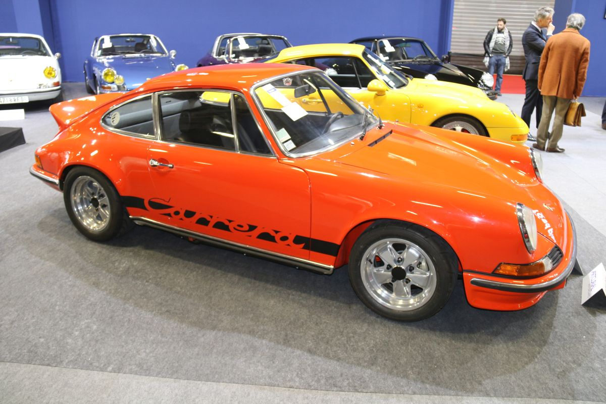 Rétromobile 2016 - Porsche 911 Carrera 2.7L RS Touring de 1973