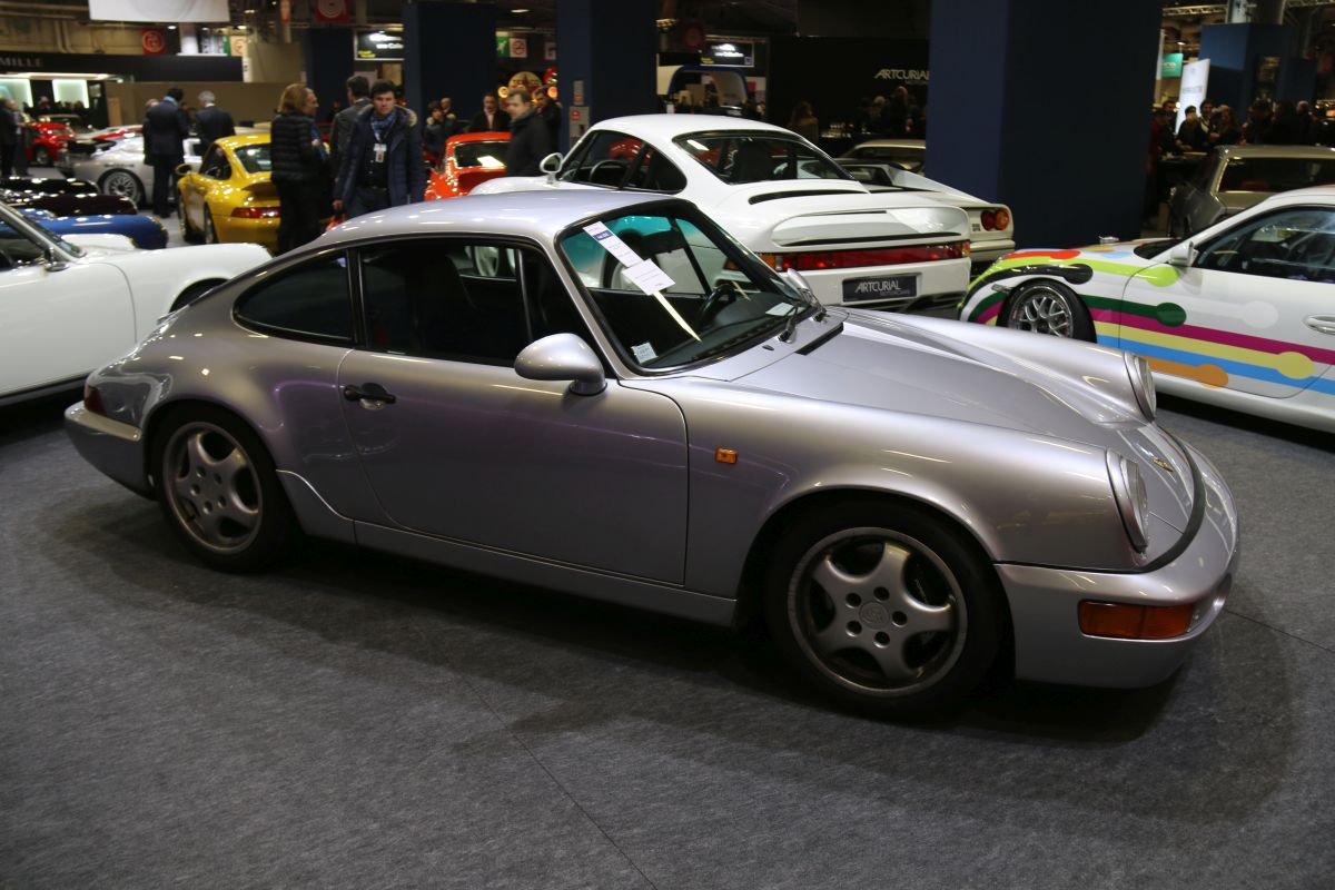Rétromobile 2016 - Porsche 911 Carrera RS type 964 de 1992