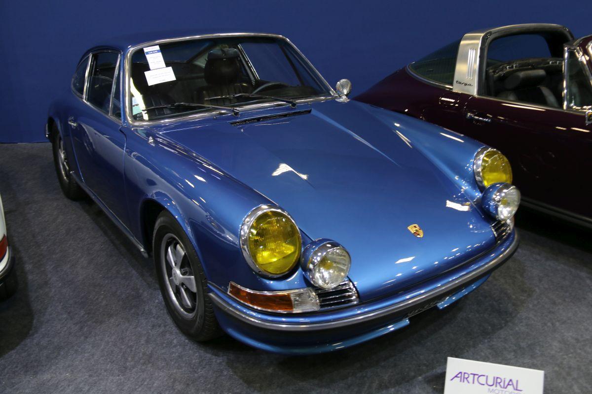 Rétromobile 2016 - Porsche 911 E 2,2L de 1970