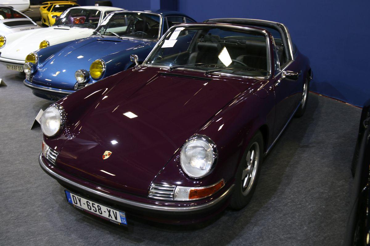 Rétromobile 2016 - Porsche 911 2,4 L S Targa de 1971
