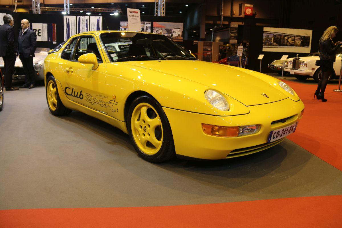 Rétromobile 2016 - Porsche 968 Clubsport de 1993