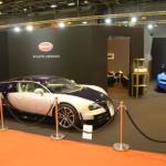 Rétromobile 2016 – Bugatti exposait sa Vision Gran Turismo aux côtés d'une Veyron Super Sport