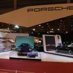 Rétromobile 2016 – Stand Porsche avec le résultat du concours de restauration