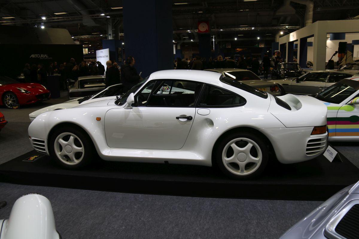 Rétromobile 2016 - Les supercars Porsche réunies
