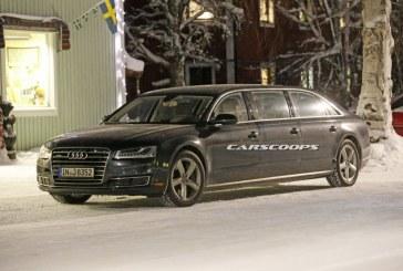 Spyshots Audi A8 Limousine à 6 portes vue en Suède