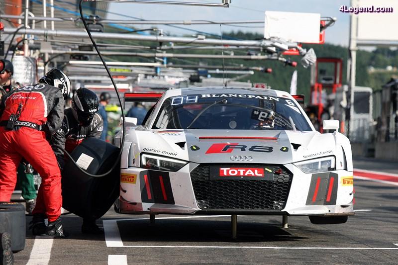 Audi R8 LMS #6 (Audi Sport Team Phoenix), Marcel Fässler/André Lotterer/Mike Rockenfeller