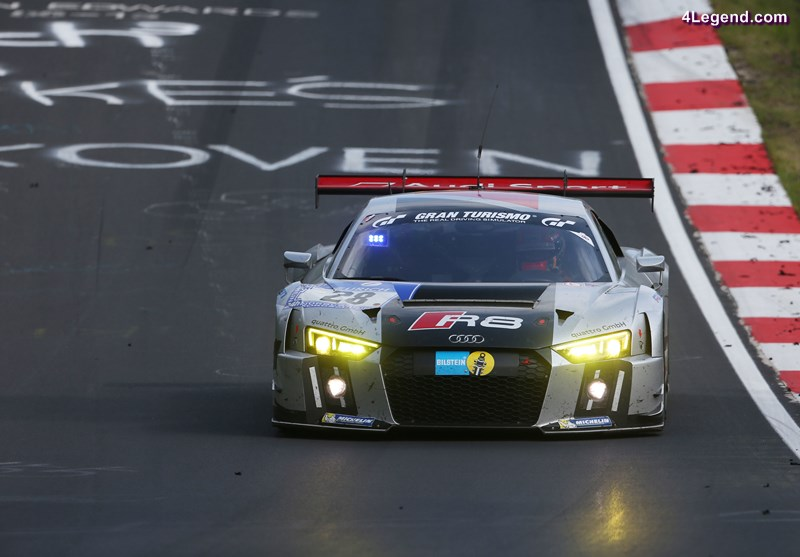 The Audi R8 LMS returns to Nürburgring and Spa