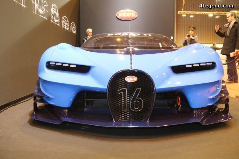 r tromobile 2016 bugatti exposait sa vision gran turismo aux c t s d 39 une veyron super sport. Black Bedroom Furniture Sets. Home Design Ideas