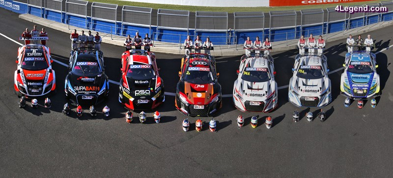 The Audi teams at Bathurst
