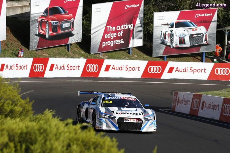 Audi R8 LMS #75 (Jamec Pem Racing), Steven McLaughlan/René Rast/Garth Tander