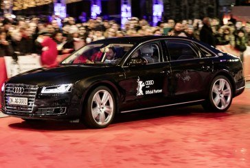 Audi à la Berlinale 2016 – Une arrivée remarquée sur le tapis rouge à bord d'une voiture autonome