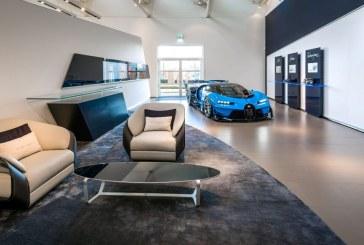 Bugatti inaugure un nouveau showroom aux Pays-Bas