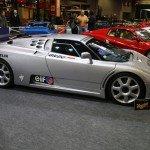 Rétromobile 2016 – Bugatti EB110 Super Sport du record de vitesse sur glace en 1995