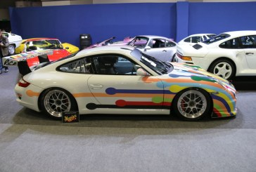 Rétromobile 2016 – Porsche 911 GT3 Cup type 997 de 1996 – Artcar by Rice