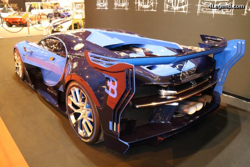 r tromobile 2016 bugatti exposait sa vision gran turismo aux c t s d une veyron super sport. Black Bedroom Furniture Sets. Home Design Ideas