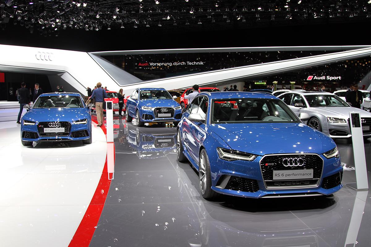 Genève 2016 - La gamme Performance par Audi Sport