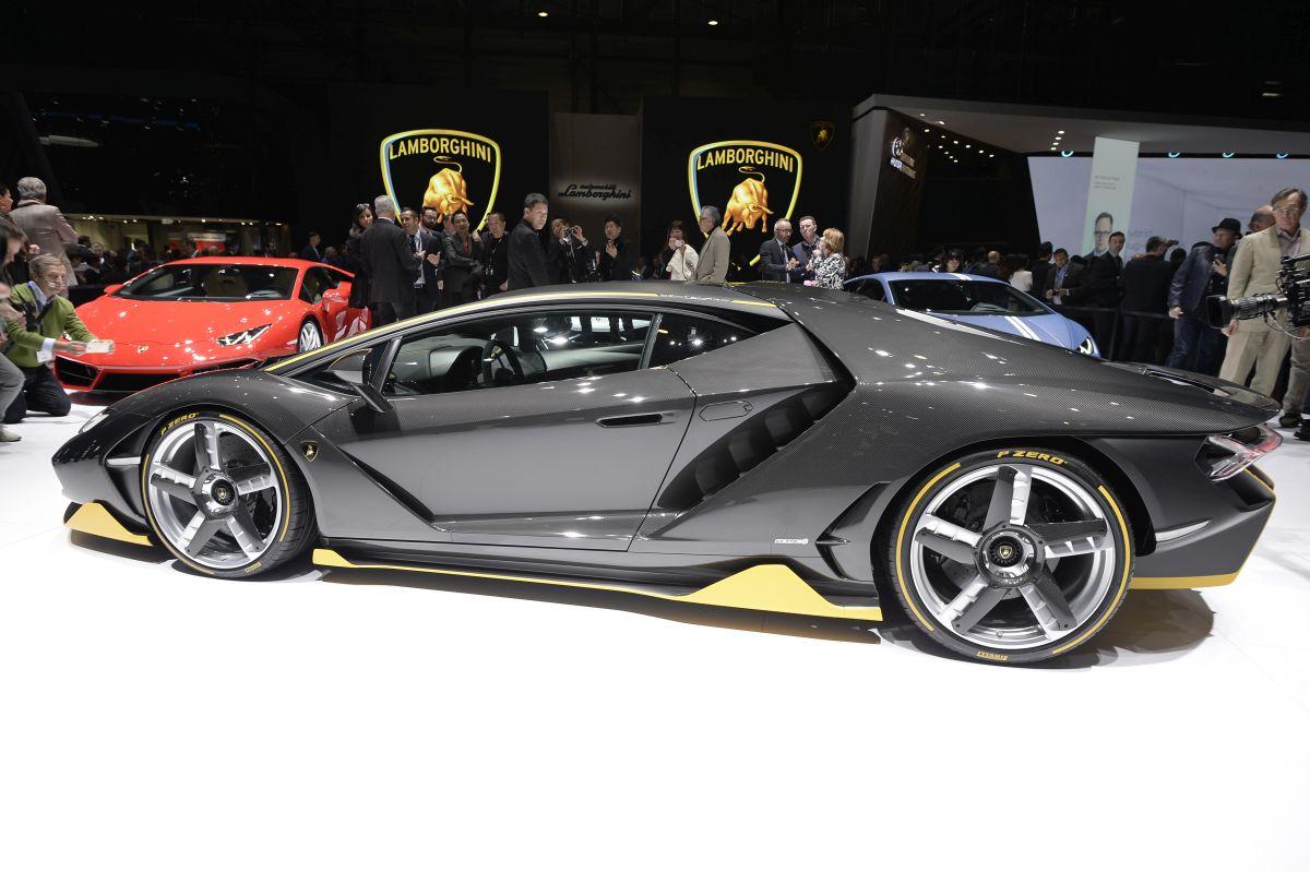 Genève 2016 - Lamborghini et Pirelli réunies avec la Lamborghini Centenario