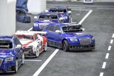 Audi Autonomous Driving Cup : le piloted driving à échelle 1/8