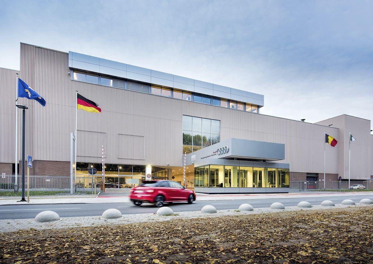 Fermeture temporaire de l'usine Audi de Bruxelles suite aux attentats du 22/03/2016