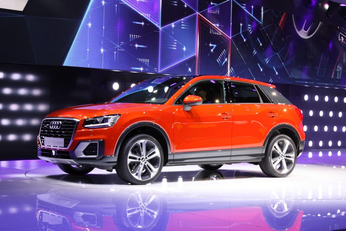 Genève 2016 - Audi Q2 en détail