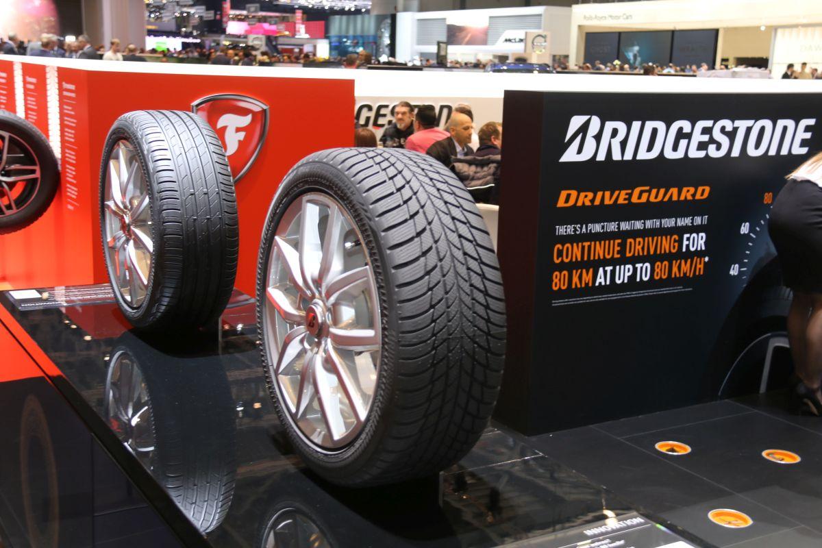 Genève 2016 - Bridgestone est présent aux côtés de Firestone avec des nouveautés