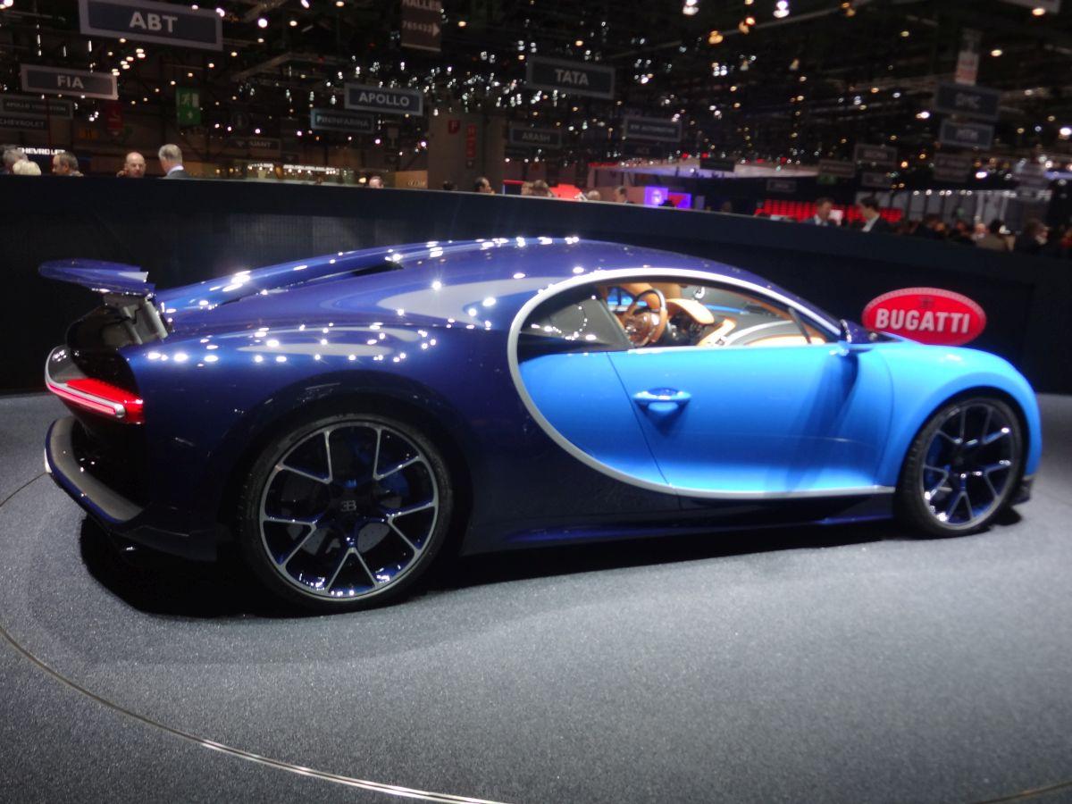 Genève 2016 - Bugatti Chiron