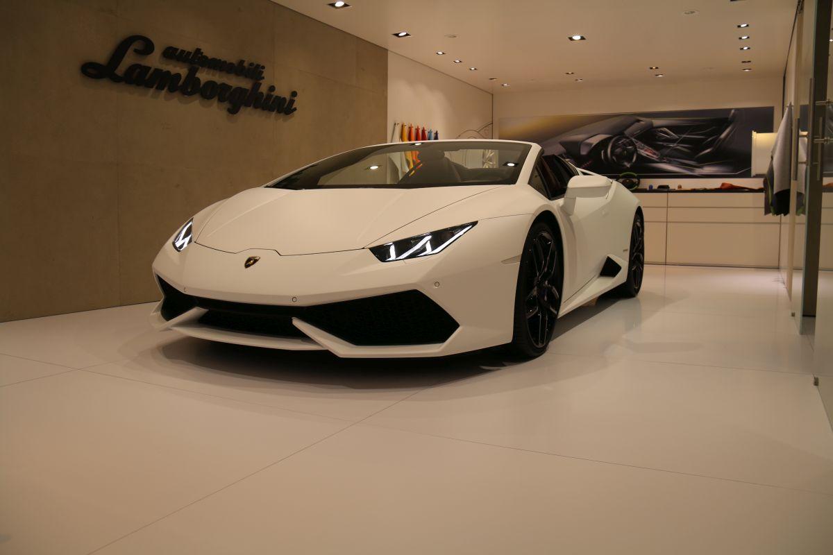 Genève 2016 - Lamborghini Ad Personam - Lamborghini Huracan Spyder & Aventador Roadster