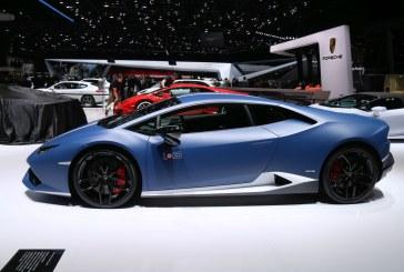 Genève 2016 – Lamborghini Huracán LP 610-4 Avio limitée à 250 exemplaires
