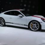 Genève 2016 – Porsche 911 R en détail