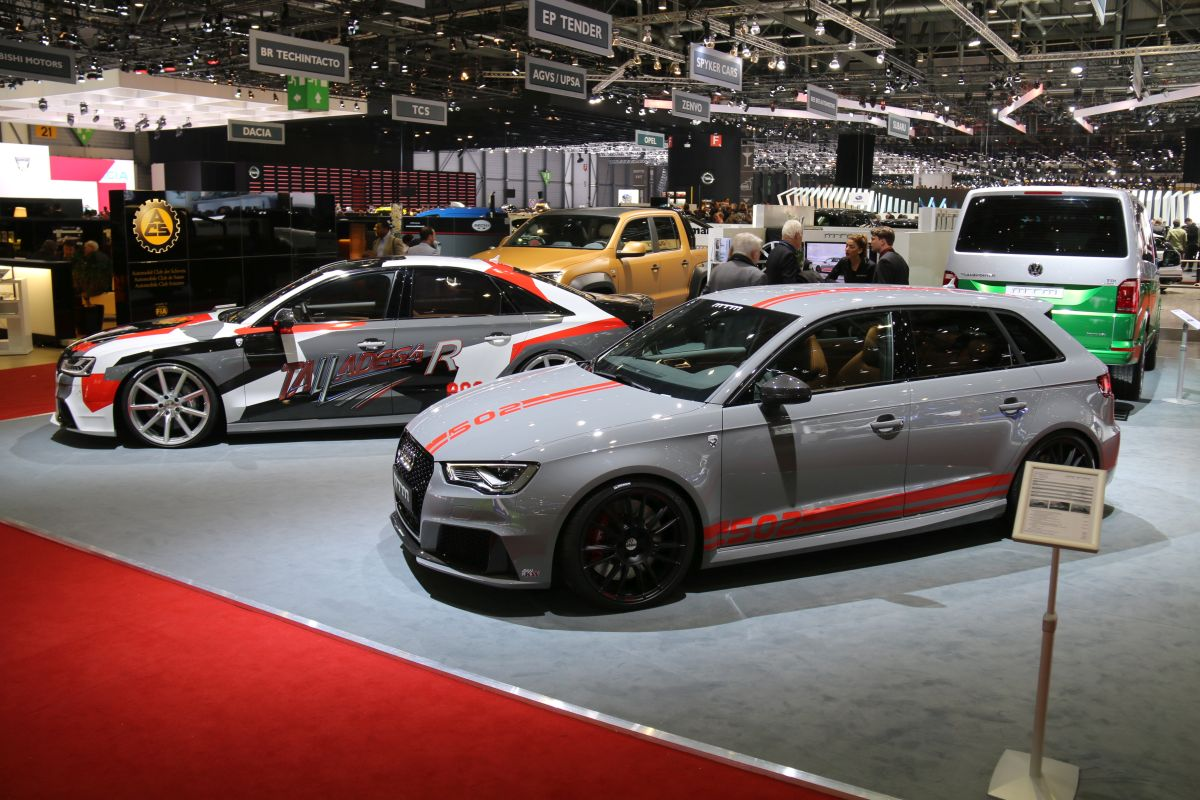 Genève 2016 - Nouvelles MTM RS3 R & MTM S8 Talladega R