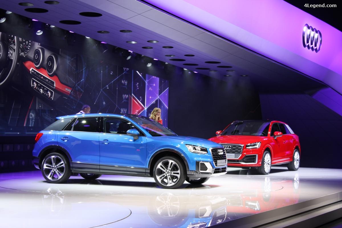 Genève 2016 - évolutions du stand Audi